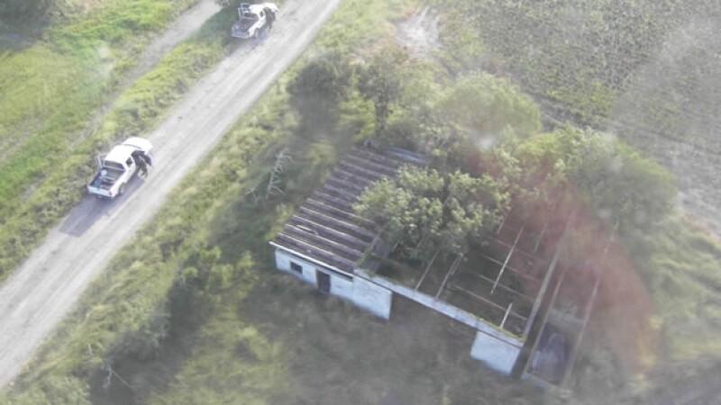 El rancho en donde fueron encontrados 72 cadáveres de migrantes en un rancho de San Fernando, Tamaulipas, en agosto de 2010