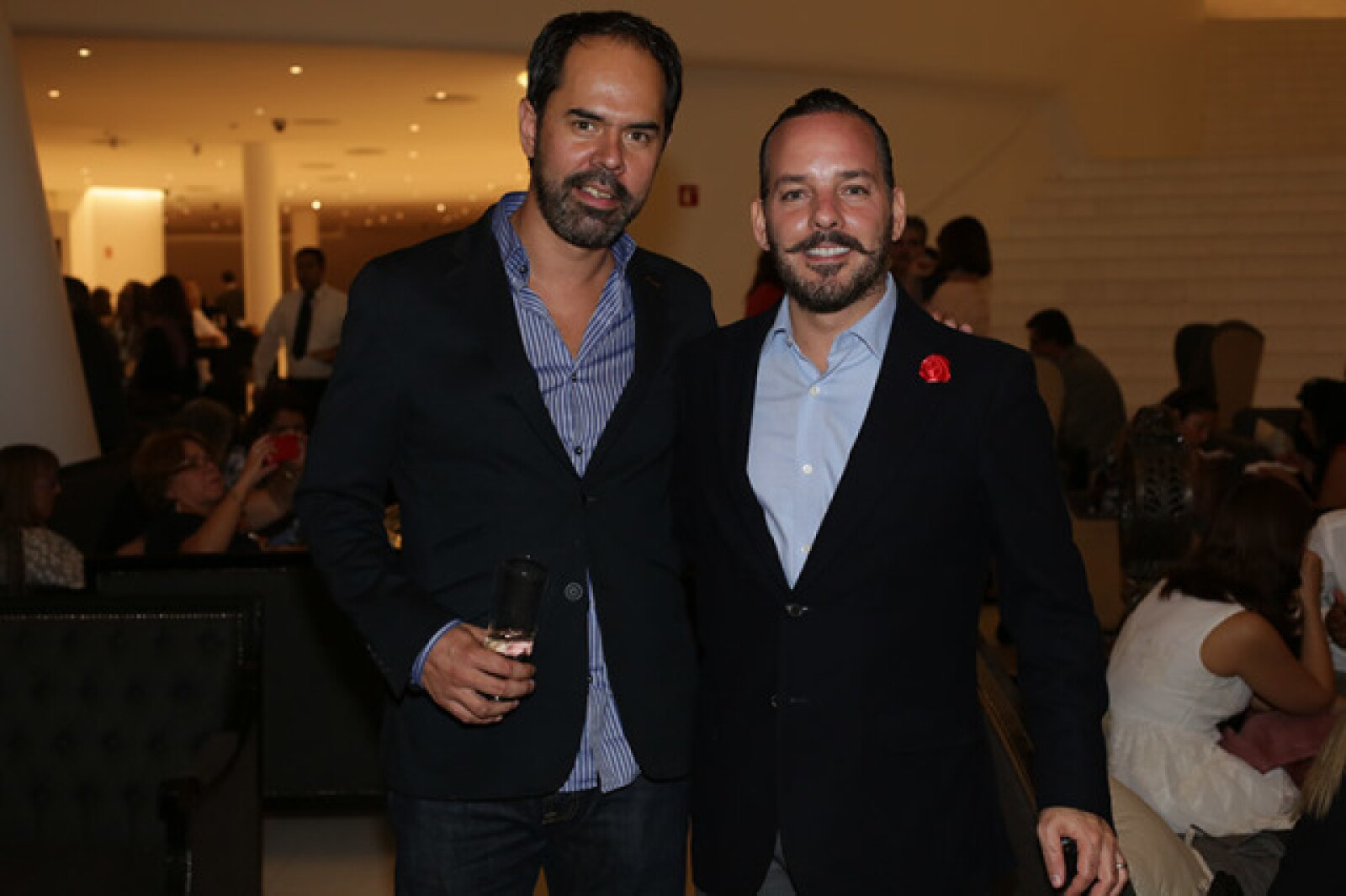 Mariano Méndez y Eduardo Pliego