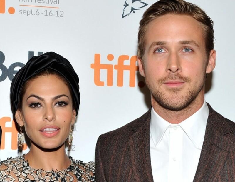 El atractivo actor encaró a un fotógrafo que llamó a su novia, Eva Mendes, `Hey, baby´mientras se encontraban en un hotel por la promoción de su nuevo filme `A Place Beyond The Pines´.