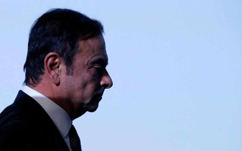 Carlos Ghosn caída