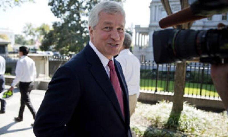 El CEO de JPmorgan, Jamie Dimon, logró un acuerdo extrajudicial por 13,000 mdd. (Foto: Getty Images)