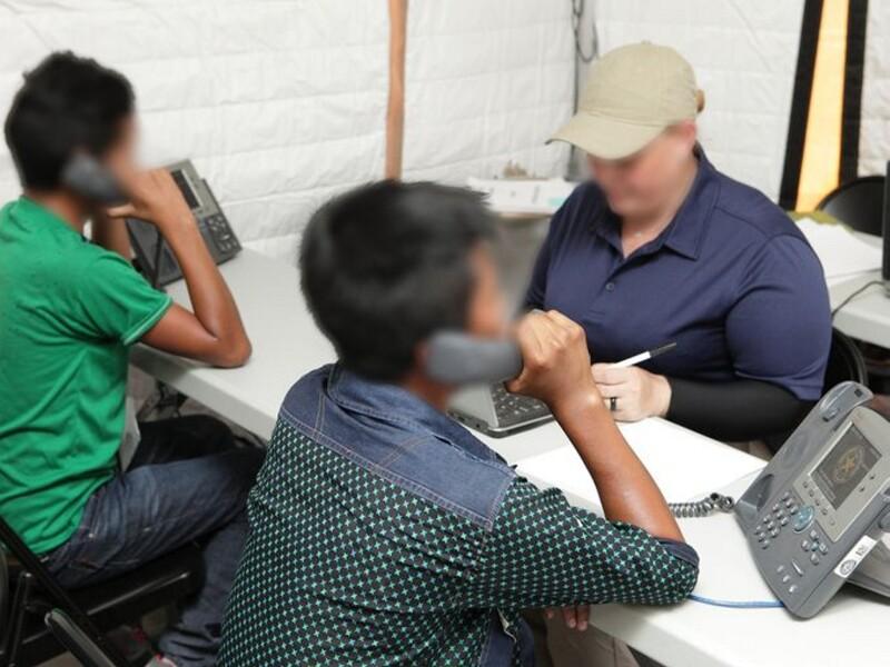 Niños migrantes CIDH Estados Unidos derechos