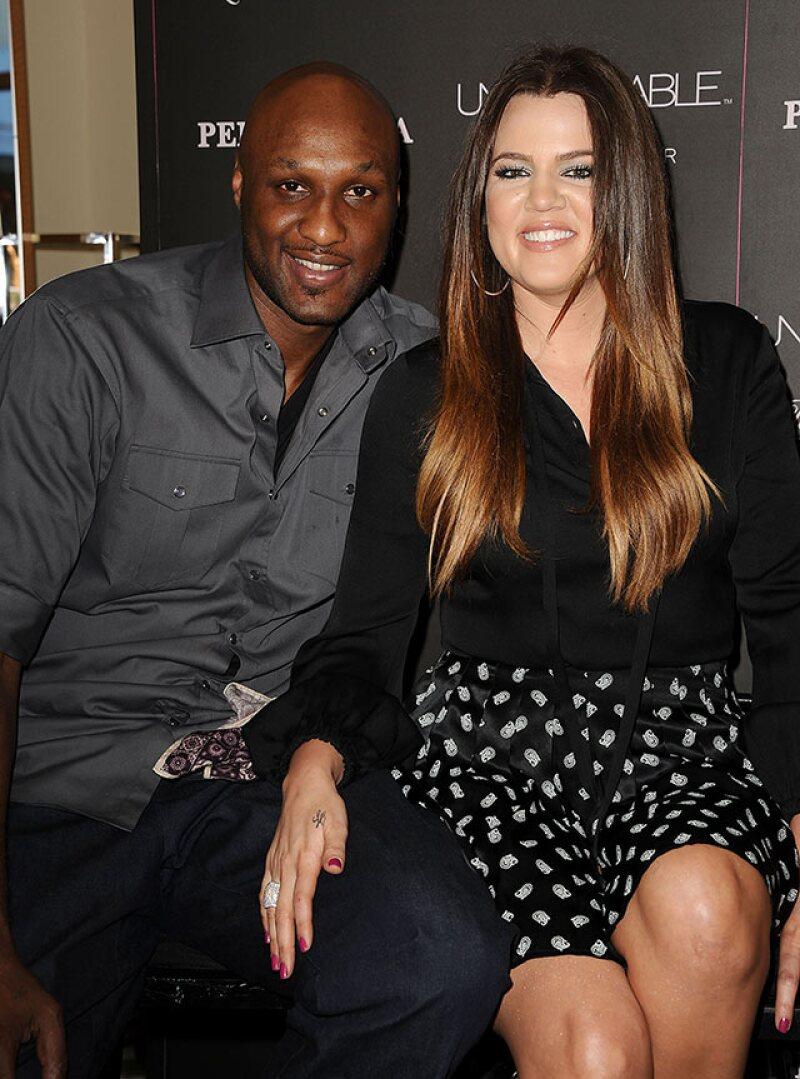 Aunque terminaron su relación en 2013, Khloé ha estado pendiente de Lamar desde que se dio a conocer lo ocurrido.