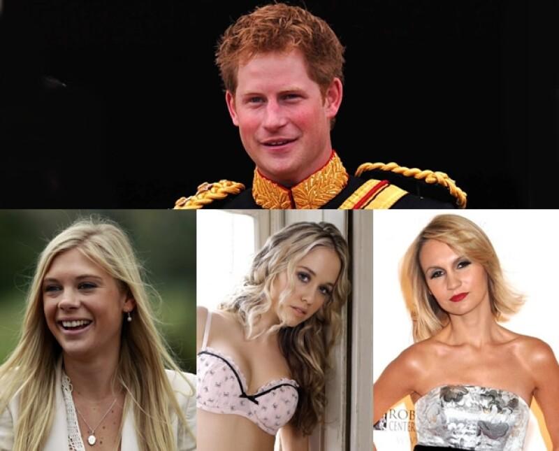 Las rubias del príncipe Enrique.