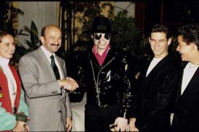 El ex presidente de México fue el único mandatario que estuvo con la estrella del pop.