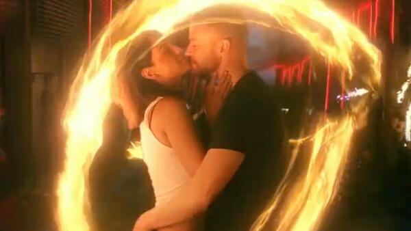 "Eiza González en el video ""Supplies"" de Justin Timberlake."