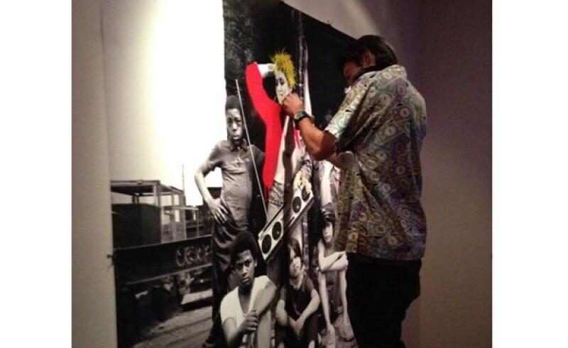 Ayer por la noche se inauguró la exposición fotográfica de Richard Corman en la que capta la escencia de la Reina del Pop en los años 80.