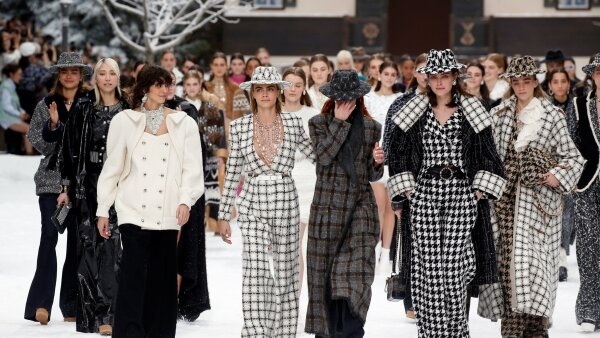 Chanel show at Paris Fashion Week