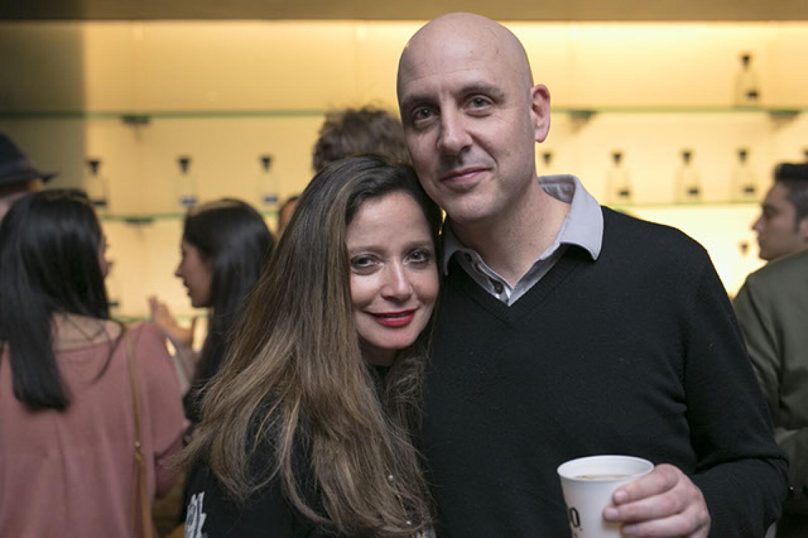 Marisol Adalid y Patrick Charpenel