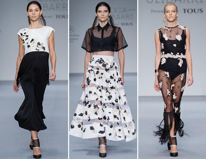 Los primeros indicios de la primavera fue una de los principales estampados de la nueva colección de Alexia Ulibarri.