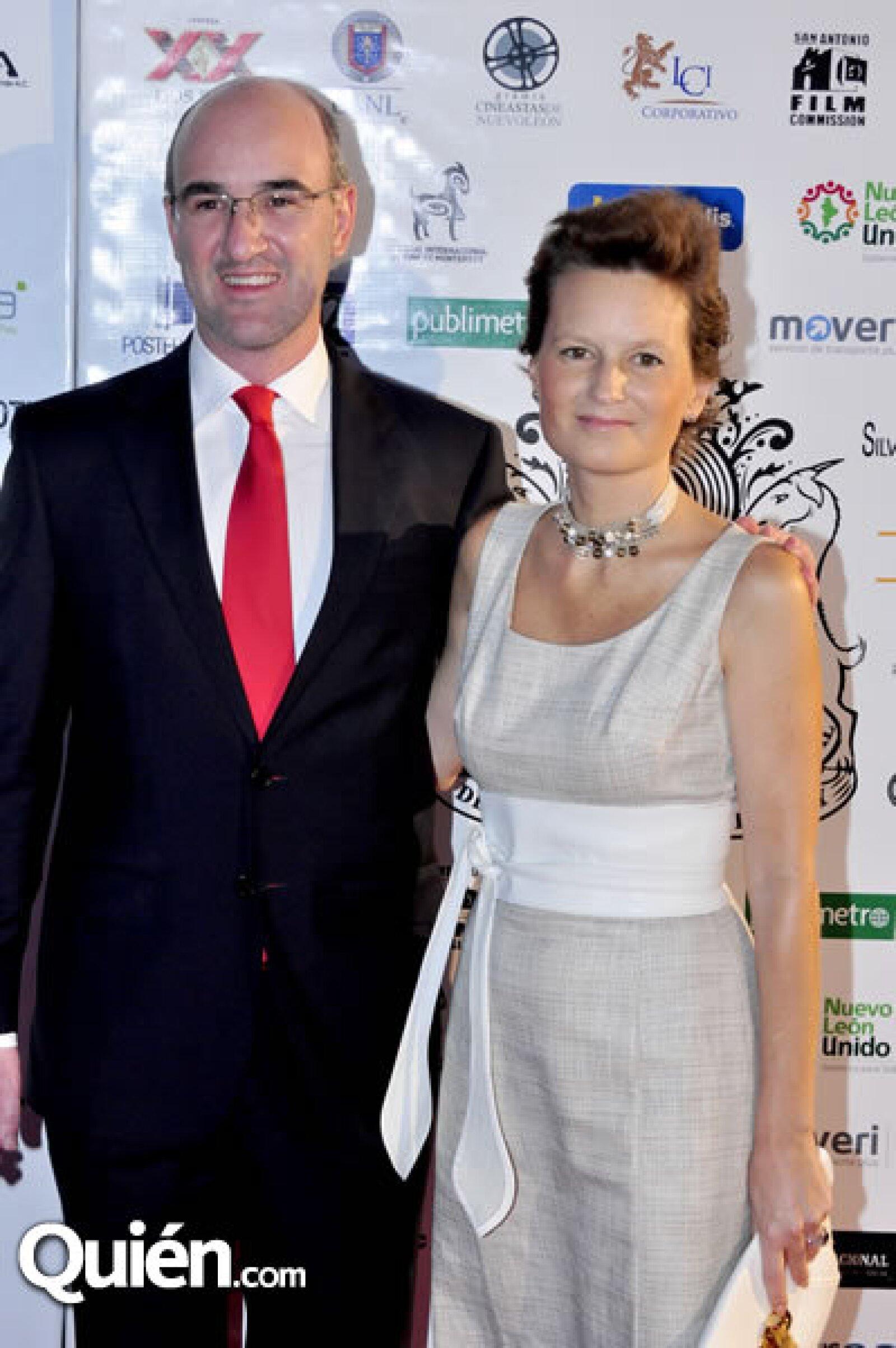 José Manuel Ramírez y María Conde