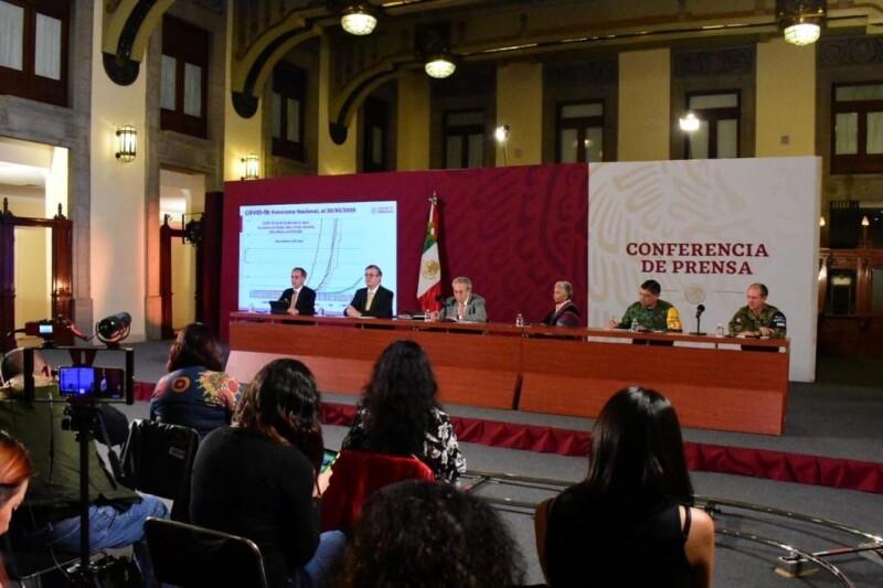 Conferencia del gabinete por COVID-19