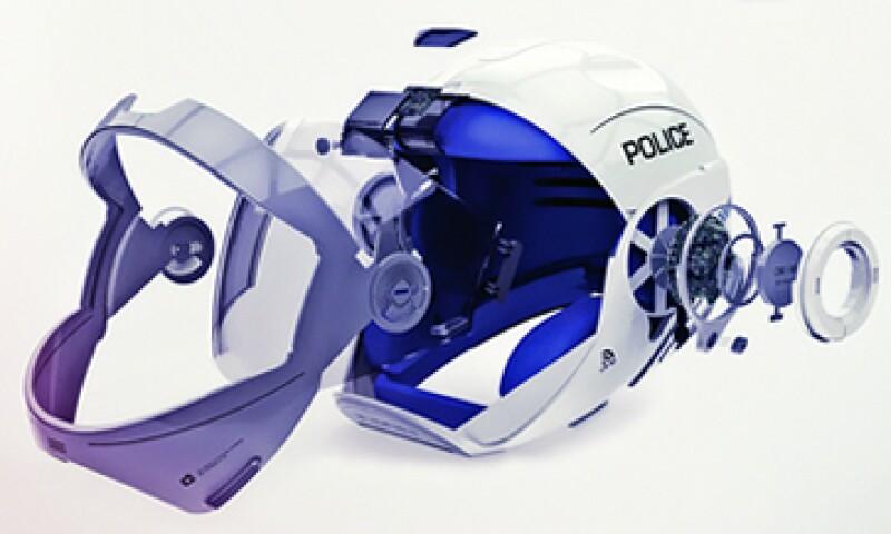 Este casco inteligente cuenta entre otras cosas con un GPS de realidad aumentada controlado por voz. (Foto: Especial)