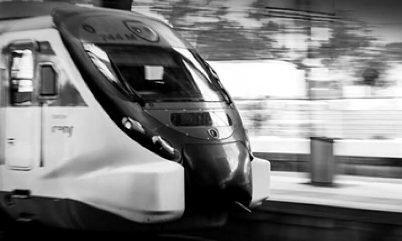 La construcción del tren inició en julio pasado. (Foto: Especial)