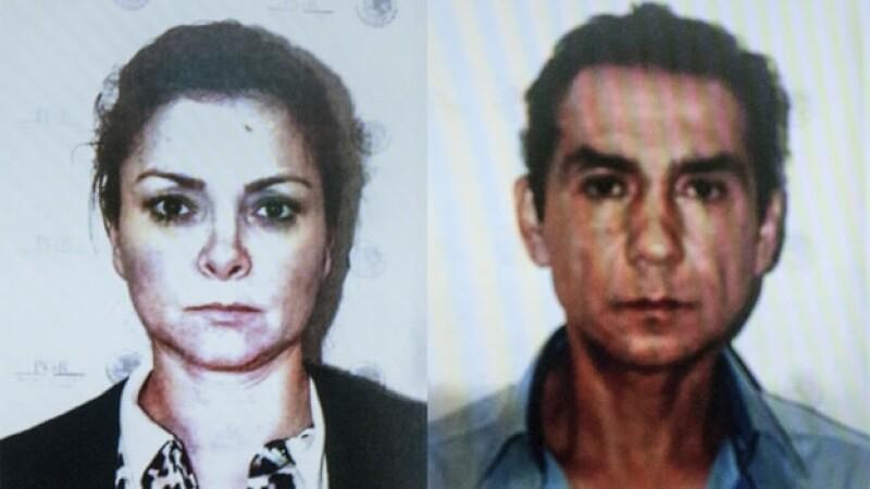 José Luis Abarca y su esposa María de los Ángeles Pineda, fueron detenidos la madrugada del martes en la Ciudad de México
