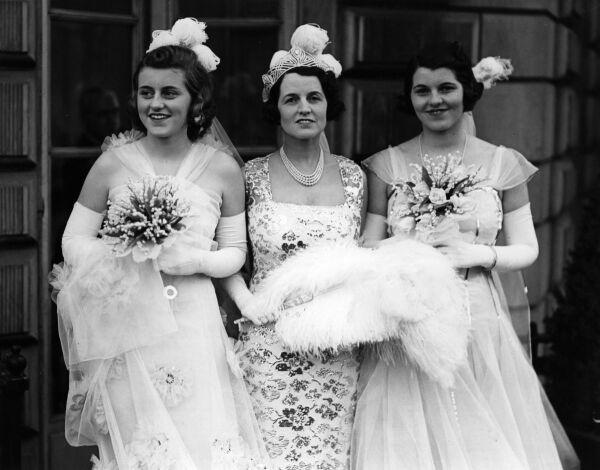Kathleen, Rose y Rosemary Kennedy