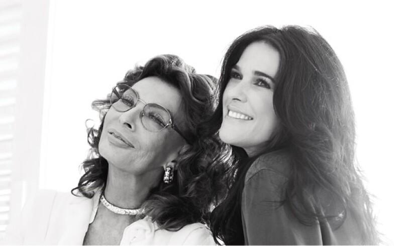 Ser feliz es el consejo de belleza que Sophia le dio a Martha.
