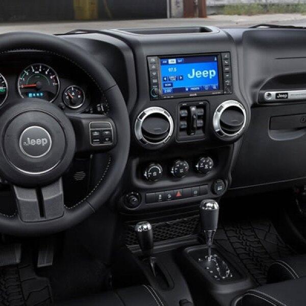 Los logotipos de esta edición especial se localizan en diferentes partes del exterior e interior del vehículo, como son: asientos, tablero y piso de cajuela.