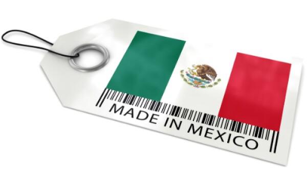 hecho en m�xico etiqueta