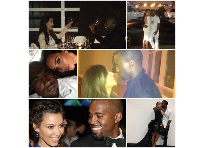 Mientras que el rapero festejaba en Nueva York su cumpleaños el día de ayer, Kim Kardashian no pudo volar desde Los Ángeles debido a su avanzado embarazo.