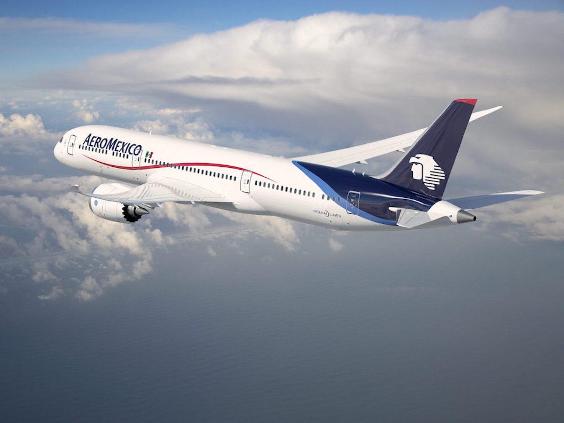 AEROM…XICO REFUERZA SU FLOTA CON BOEING 787-9 DREAMLINER