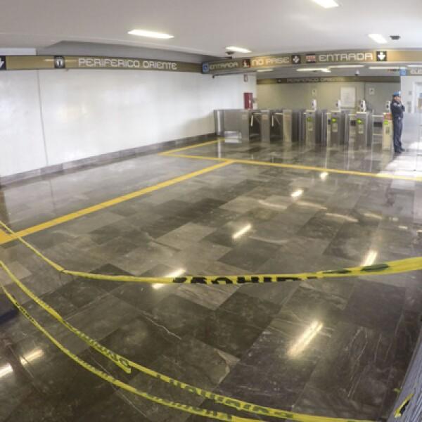 Alrededor de 20 meses el tramo de la Línea Dorada, la más nueva del Sistema Colectivo, estuvo cerrada y en mantenimiento.