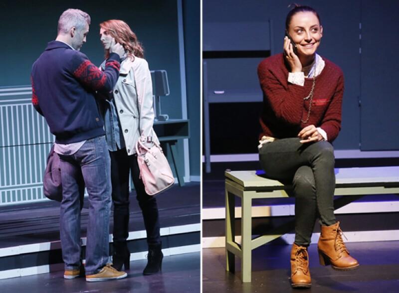 Juan Pablo Medina, Irán Castillo y Marimar Vega son tres de los protagonistas de esta puesta en escena.
