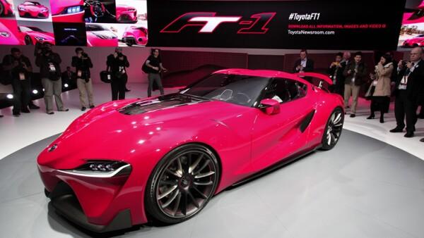 La firma Toyota presenta su nuevo modelo del Toyota FT-1