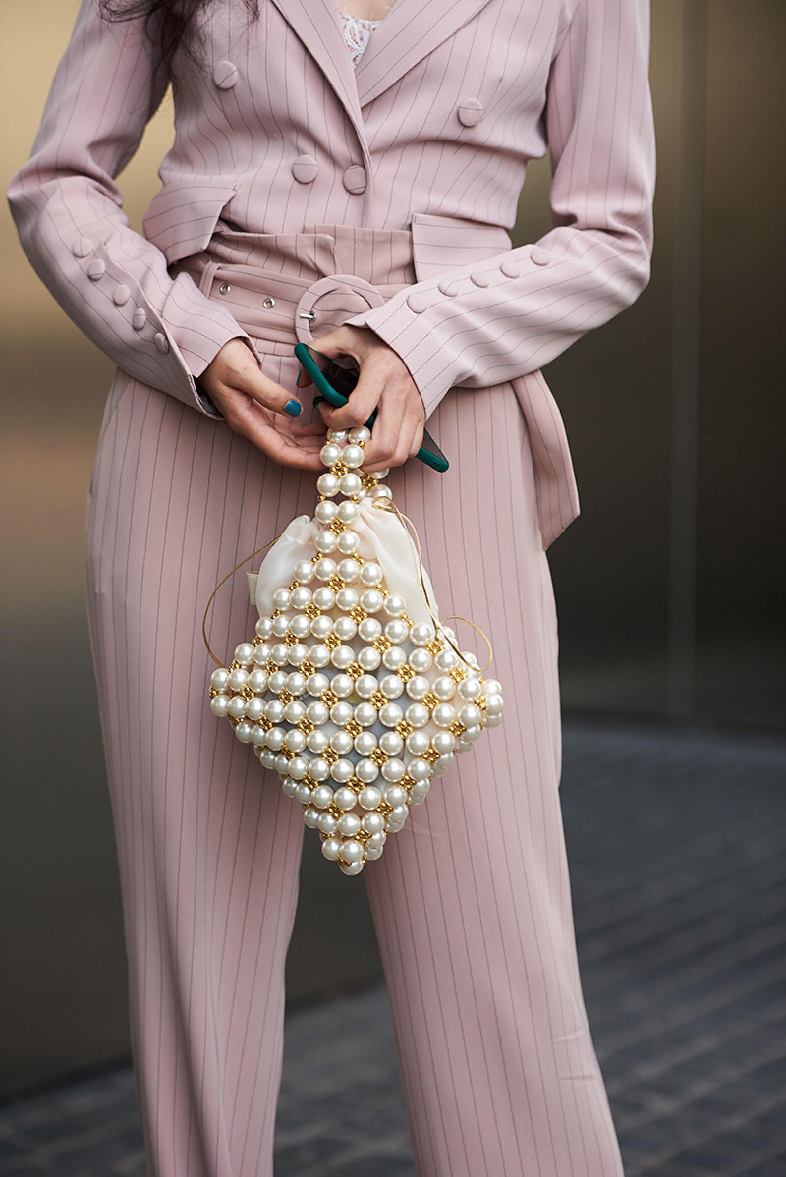 Street Style, Spring Summer 2020, London Fashion Week, UK - 14 Sep 2019