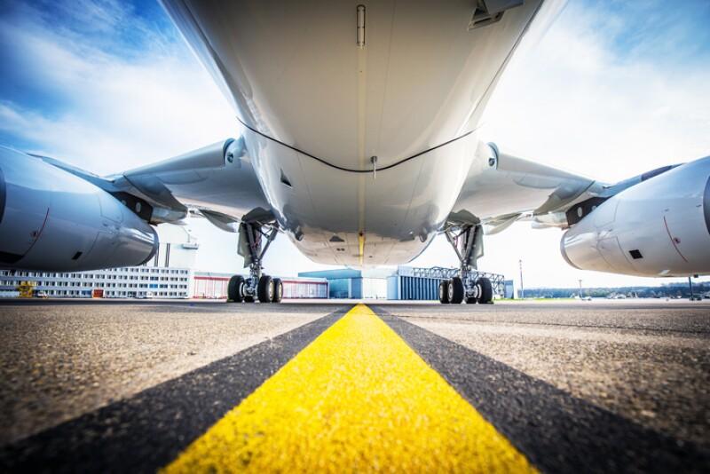 vuelo avion pista
