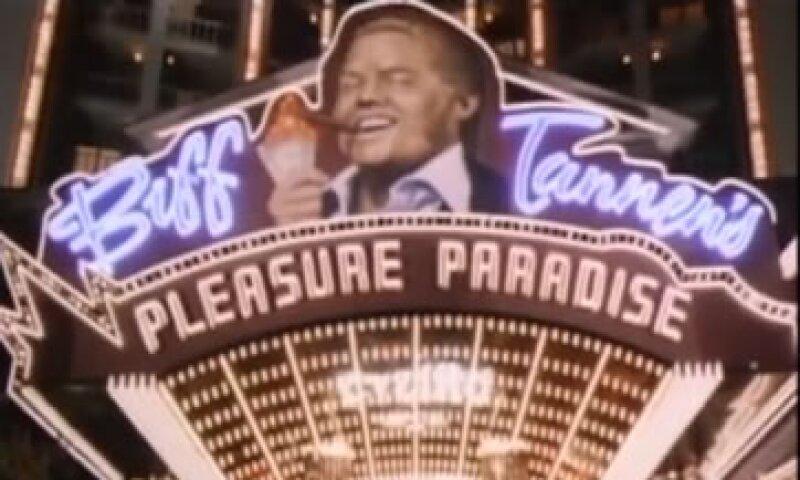 El paraíso del placer, casino que posee el villano de la exitosa película sobre viajes en el tiempo, Biff Tannen (Foto: Youtube)