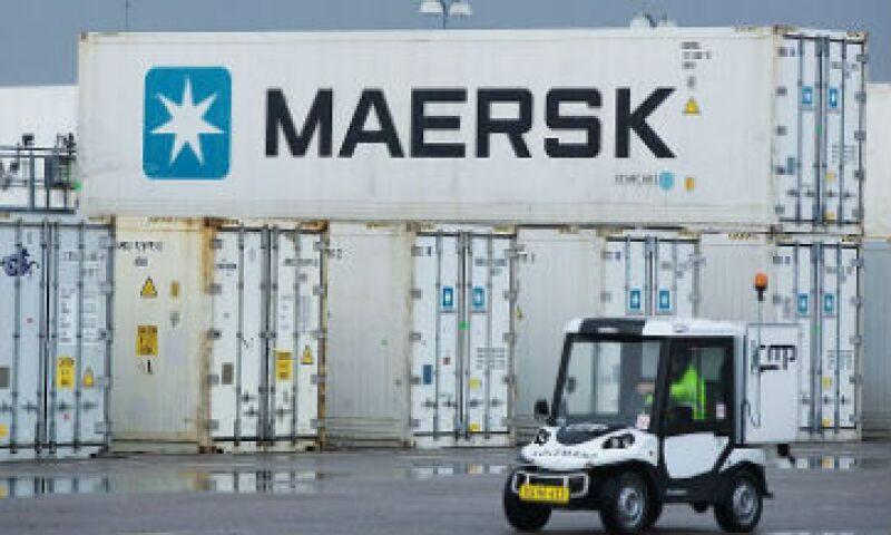 contenedor Maersk