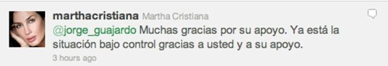 El Embajador de México en China, Jorge Guajardo, acudió al llamado de Martha Cristiana.