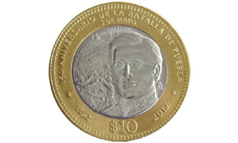 La moneda fue acuñada por la Casa de Moneda de México.  (Foto tomada de banxico.org.mx)