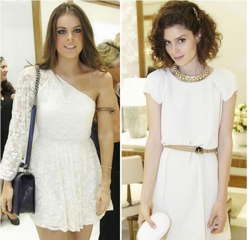 Yael Sandler y Fernanda Aragonés eligieron el color blanco para sus outfits, ambas lucieron guapísimas y en armonía con el elegante acontecimiento.