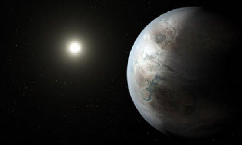El planeta está a 1,400 años luz de la Tierra. (Foto: NASA)