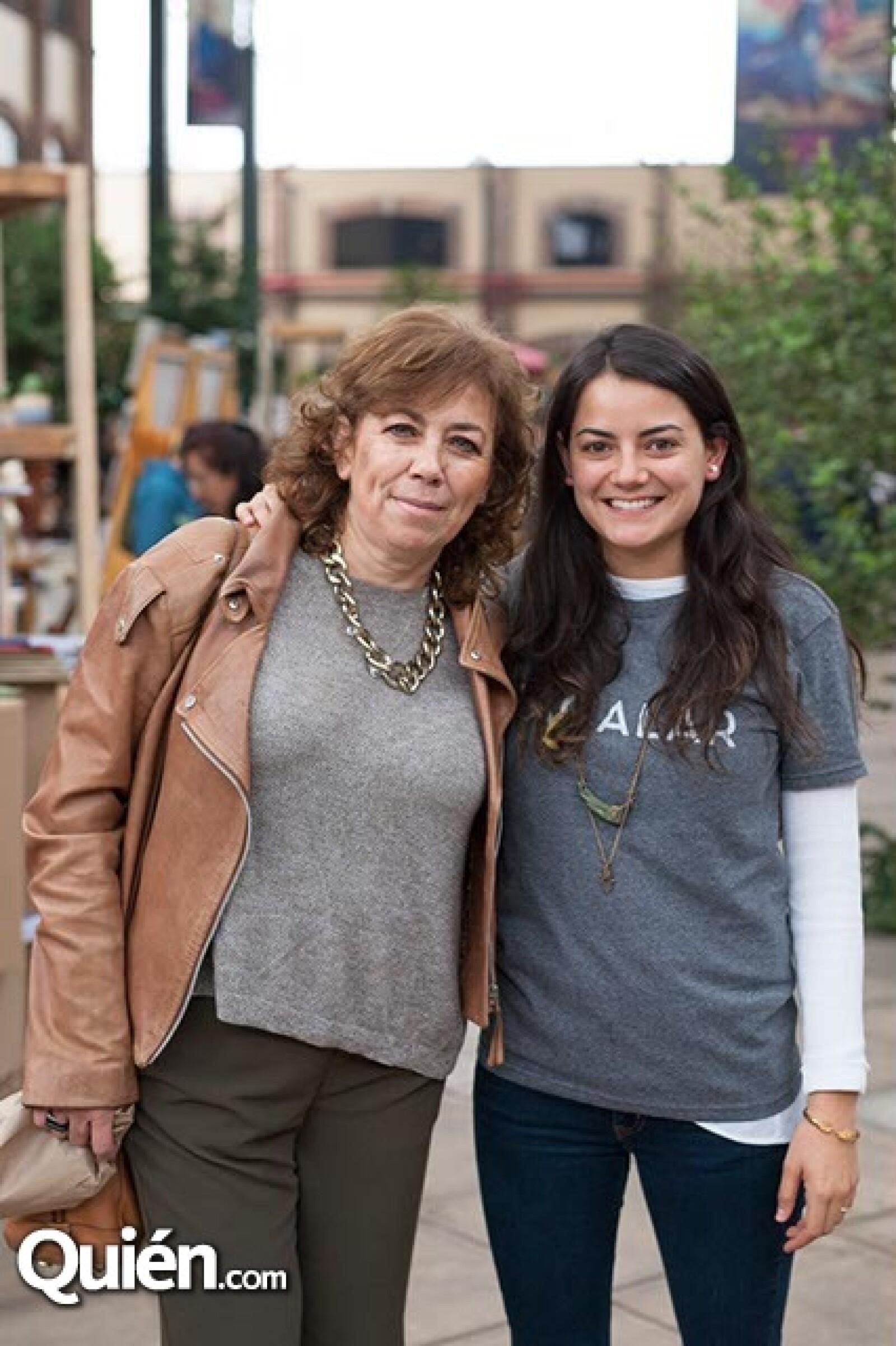 Beatriz Arreola y Ana Rode