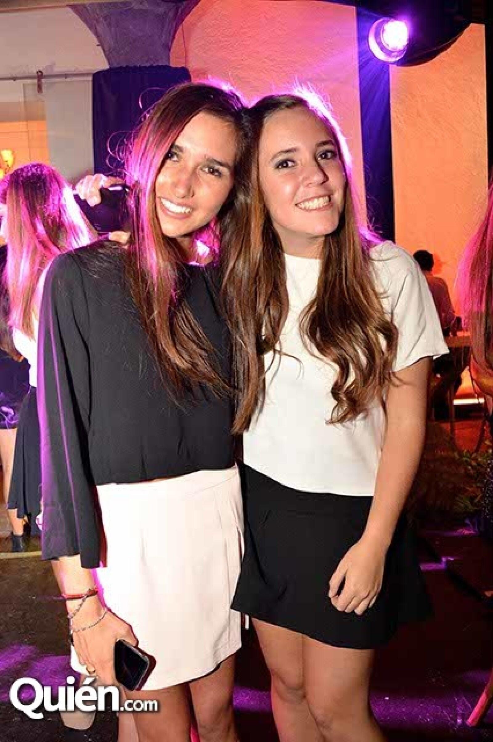 María Cantú y Sofía Danel.