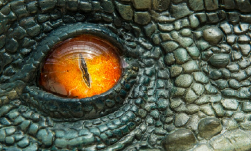 El ojo del velociraptor fascinó a las audiencias de 2015 tanto como a las de 1993. (Foto: Getty Images)