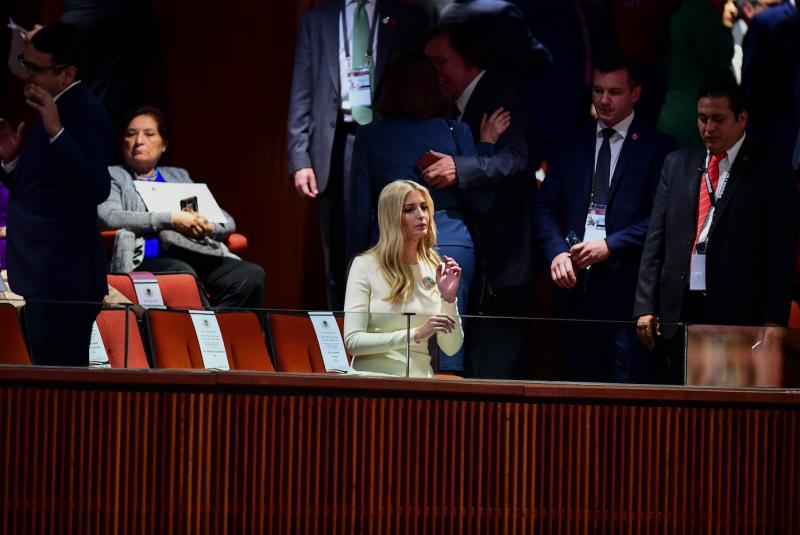 Ivanka Trump en el Congreso