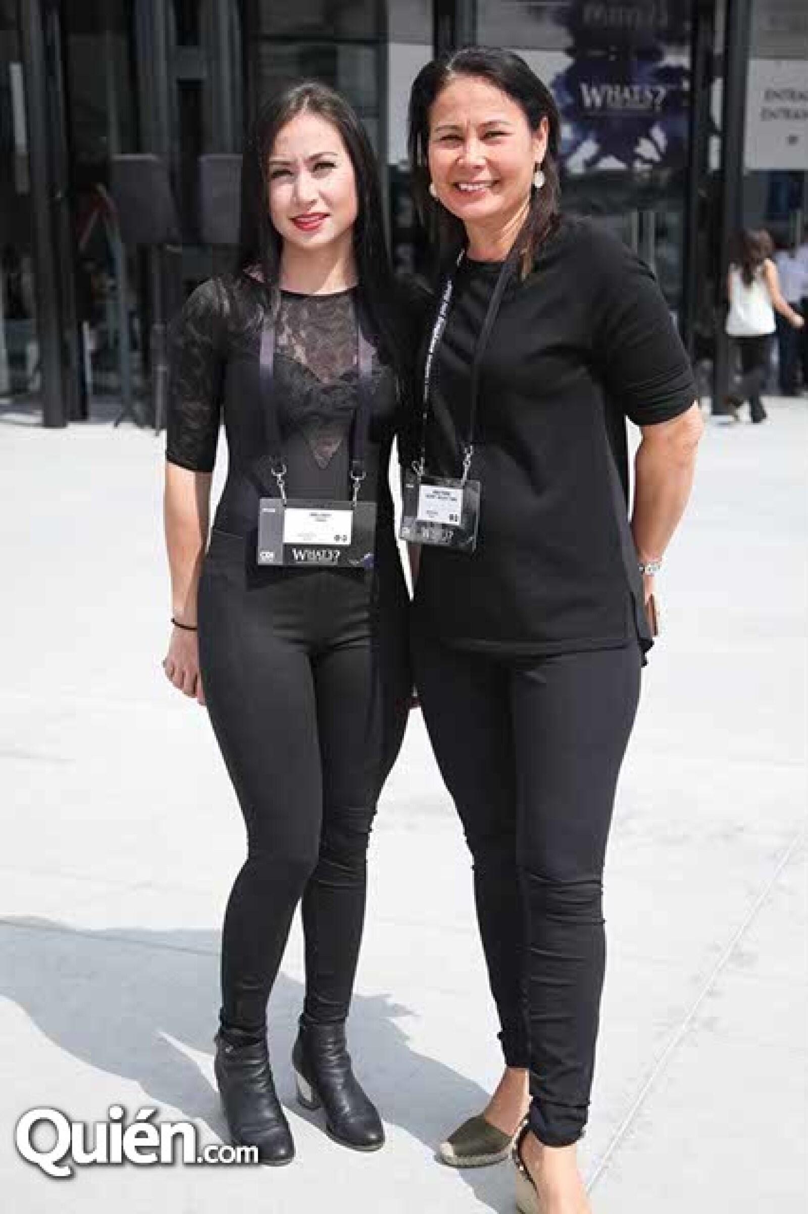 Estéban Hernández y Ana Yang