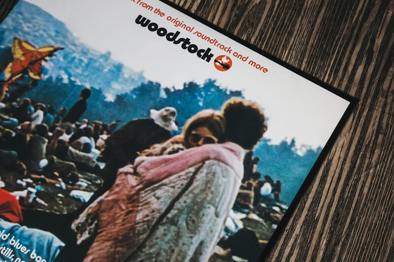 Vinilo Woodstock Bobbi Kelly y Nick Ercoline