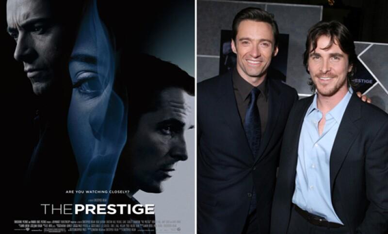 En esta película actuó al lado de Hugh Jackman, ambos protagonizaron a dos magos.