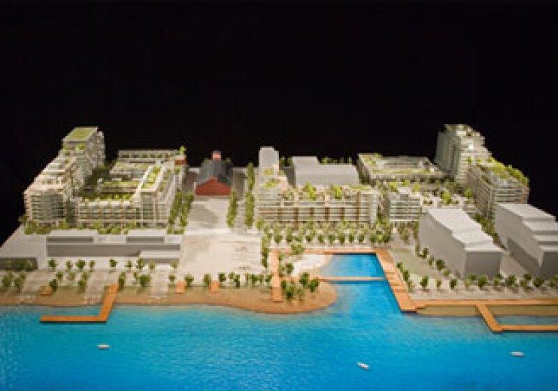 El proyecto, liderado por Stu Lyon, director de GBL Architects, es conocido como Millennium Watter. (Foto: © VANOC/COVAN)