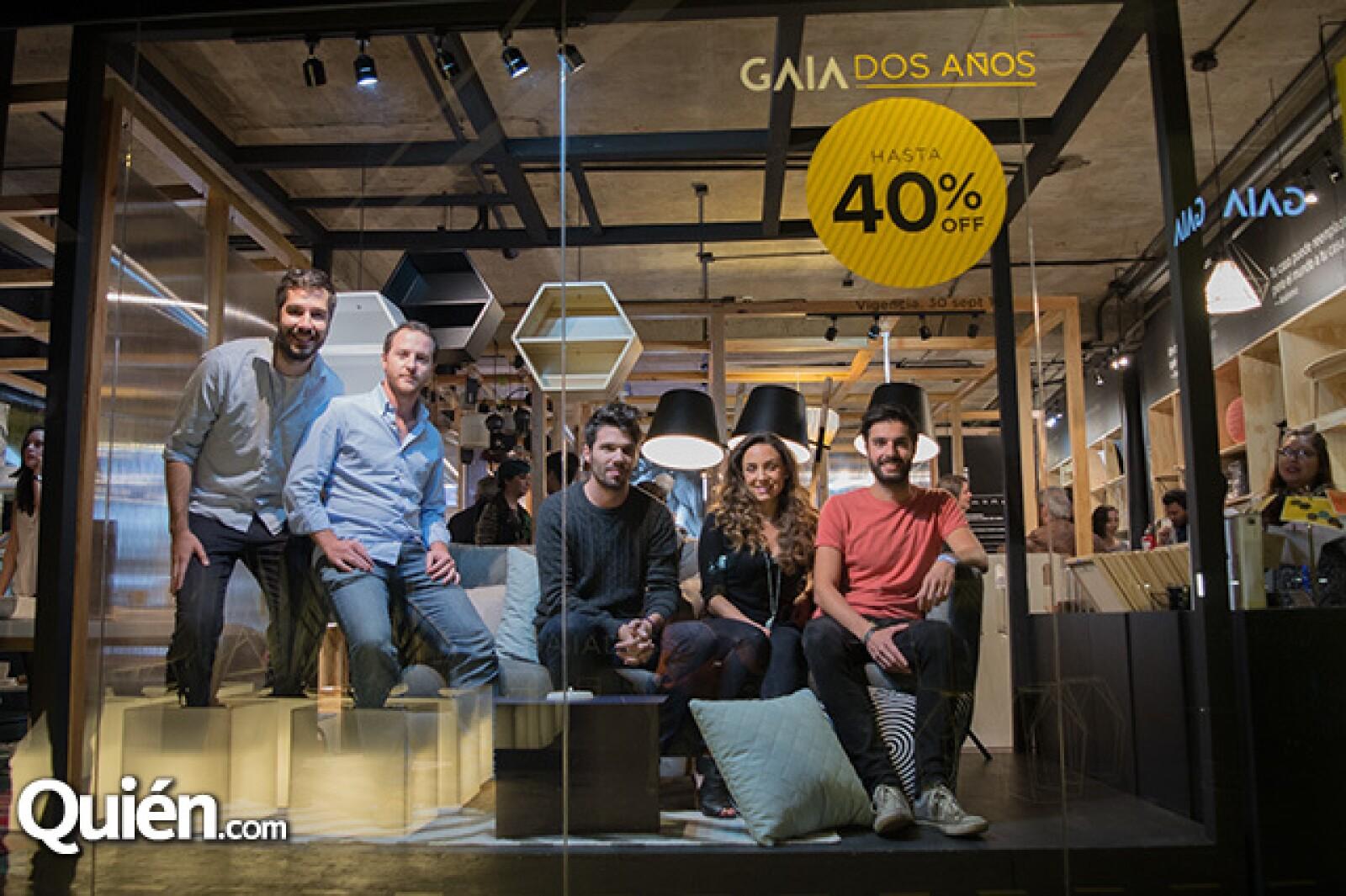 Gustavo Coimbra, Raafello Starace, Philippe Cahuzac, Marion Cortina y Hassan Yassin