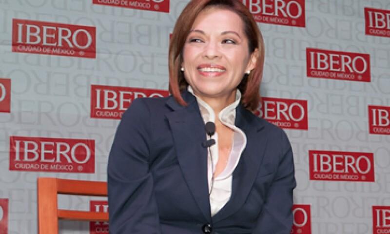 Vázquez Mota precisó que su partido aportó 280 millones de pesos para su campaña. (Foto: Notimex)