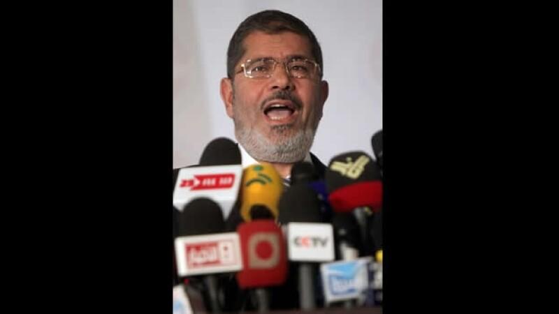 Mohamed Morsi presidente depuesto Egipto mitín junio 2012 el Cairo