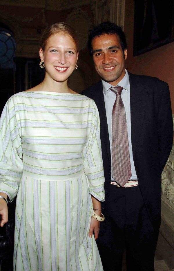 Lady Gabriella Windsor y Aatish Taseer