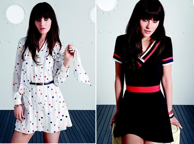 """La actriz de """"New Girl"""" descubre nuevos horizontes y crea una colección para mujeres, aquí algunas fotos de la colección."""