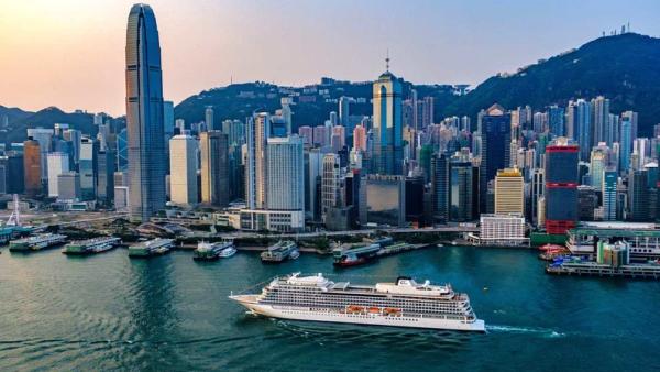 El crucero de ocho meses que viaja por el mundo